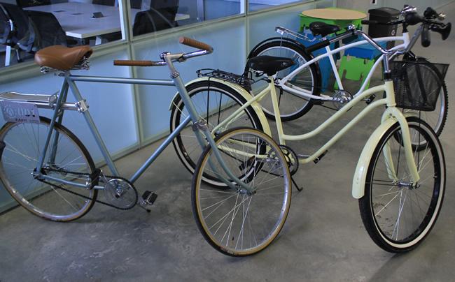 Innovaci n las bicicletas son nuevas pero el dise o es for Bicicletas antiguas nuevas