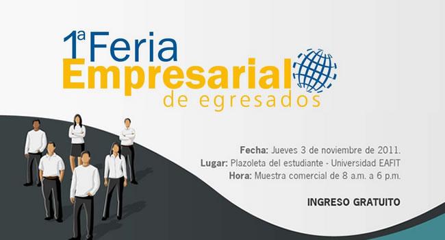 Una Invitación A La Feria De Empresarios Eafitenses